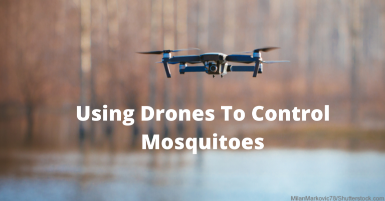 Using Drones To Control Mosquitoes